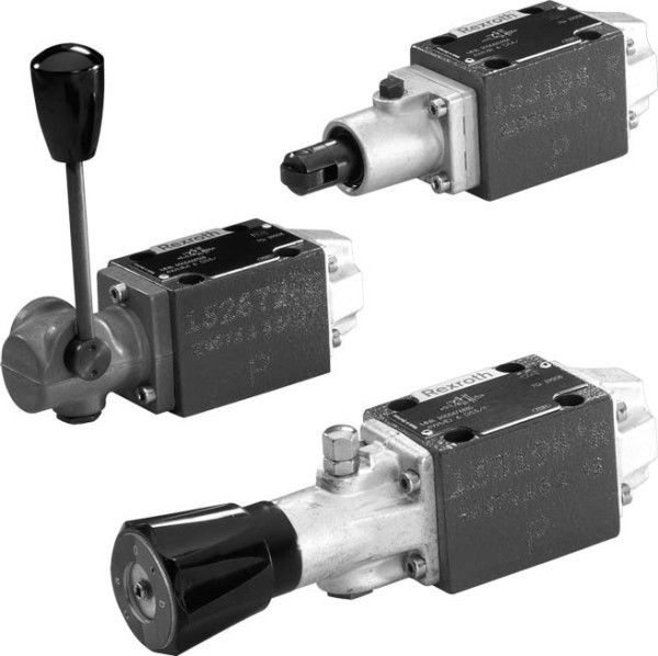 Rexroth Directional Valve with Mechanical, Manual Actuation Types WMR, WMU, WMM, WMD(A)
