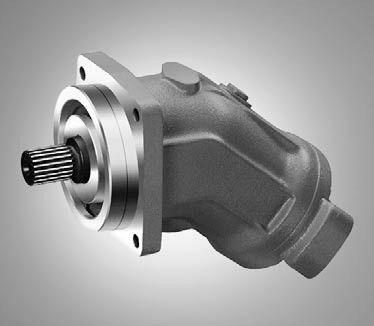 Rexroth A2fm45 61w Vzb010 Axial Piston Fixed Motor
